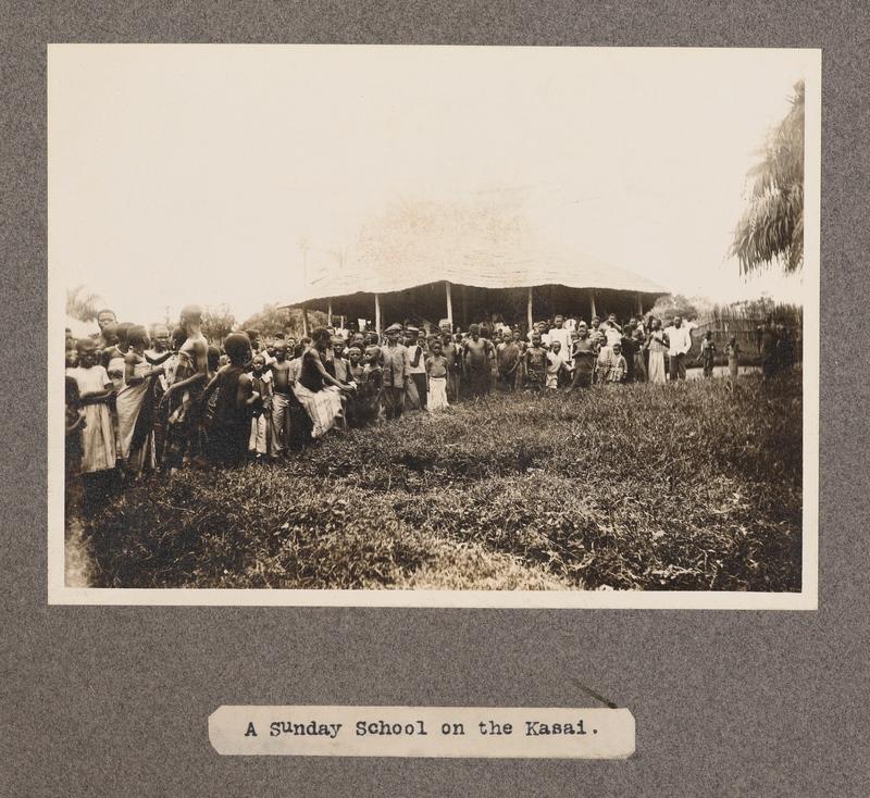 A Sunday school on the Kasai