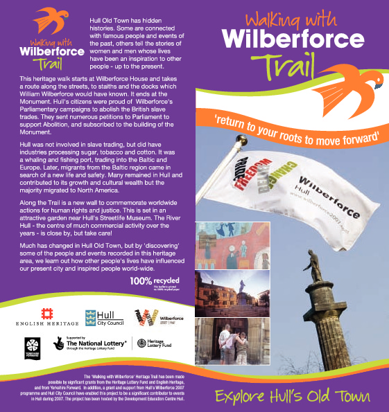 Walking with Wilberforce Heritage Trail
