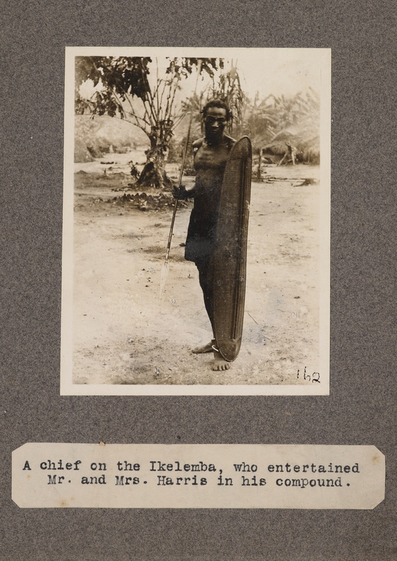 A chief on the Ikelemba, who entertained Mr. and Mrs. Harris in his compound