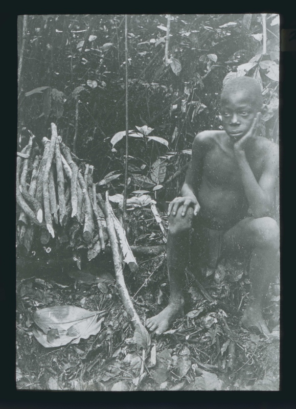 Young Boy Forced to Collect Rubber