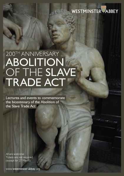 Service to Mark the Bicentenary of the Abolition of the Slave Trade Act