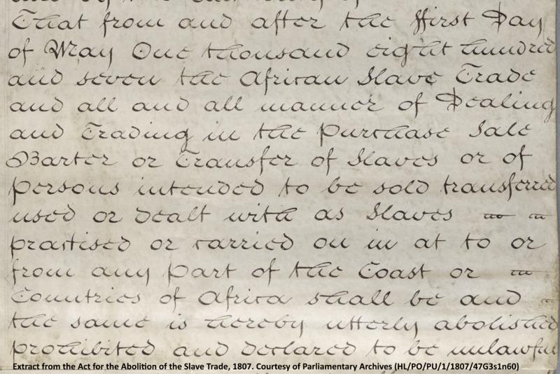 1807: Blake, Slavery and the Radical Mind