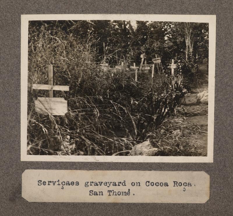 """Servicaes"", graveyard on cocoa roço. San Thomé"