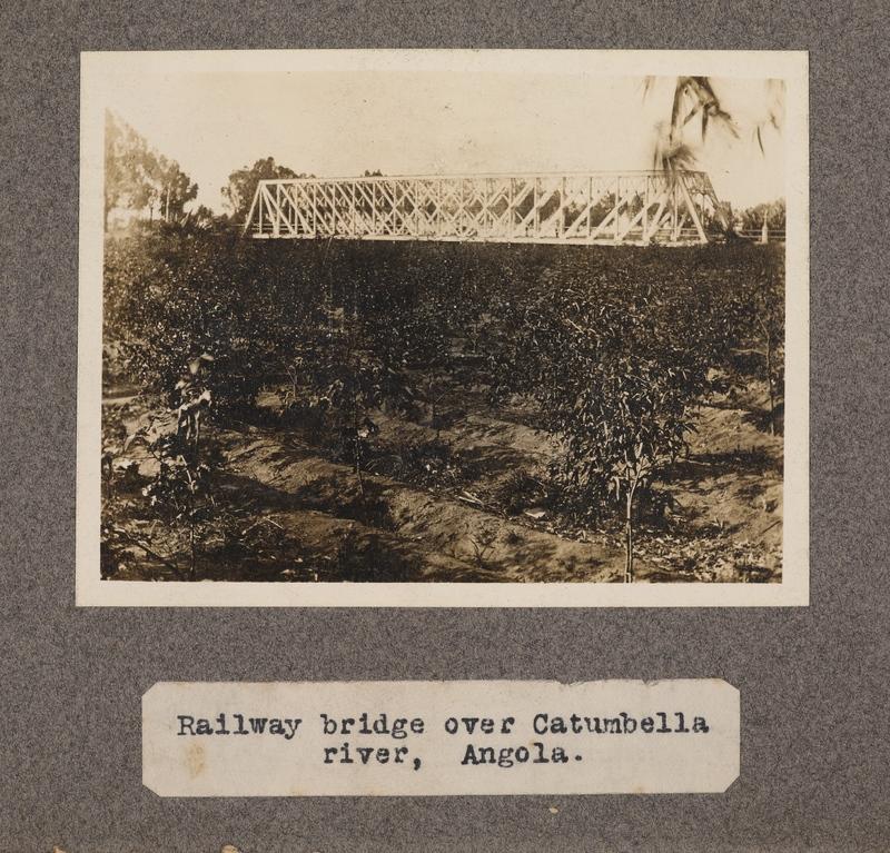 Railway bridge over Catumbella River, Angola