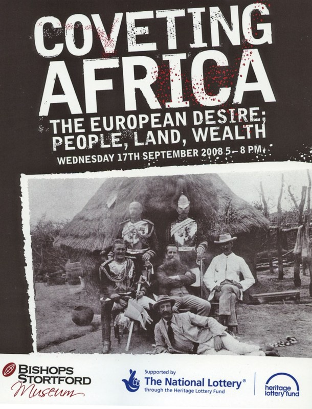 Coveting Africa. The European Desire: People, Land, Wealth