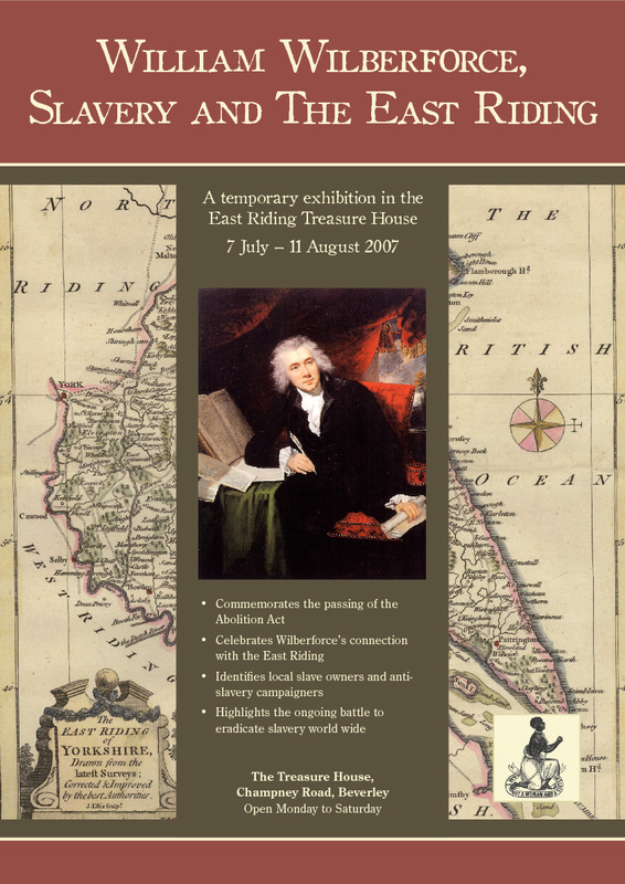 William Wilberforce, Slavery and the East Riding