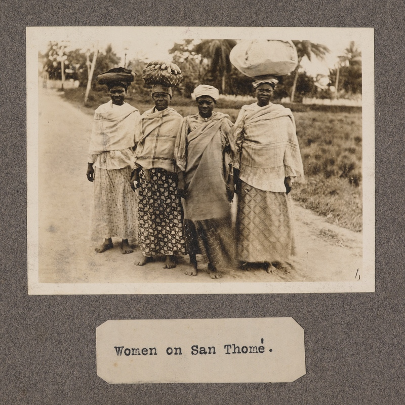 Women on San Thomé