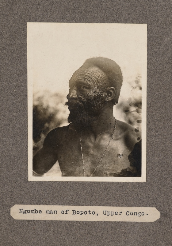 Ngombe man of Boputo, upper Congo