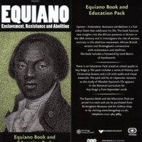 2007 Equiano Birmingham Education Pack Leaflet.JPG