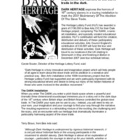 2007 Dark Heritage Press Release.pdf