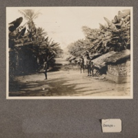 Congo [photograph of a village, caption incomplete]