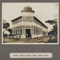 Hotel, Franco Belge, Boma, lower Congo