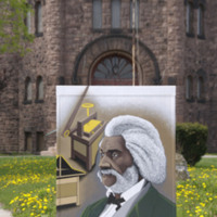 K. Fitch, Frederick Douglass Mural, Main, West and Chili Avenues, Rochester, New York, 2008 [destroyed].jpg