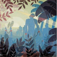 Aaron Douglas, %22Into Bondage%22 (1936), oil on canvas.jpg