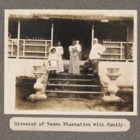 Director of Temvo Plantation with family