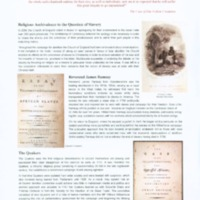 2007 Birmingham University Special Collections Exhibition Panels The Role of Religion in the Abolition Movement.pdf