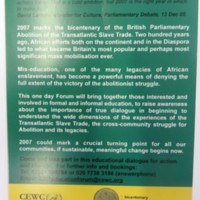 2007 Rendezvous of Victory Leaflet Back.jpg