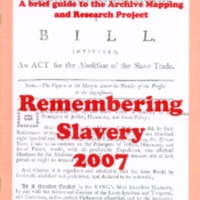 2007 Remembering Slavery 2007 Archive Project.pdf