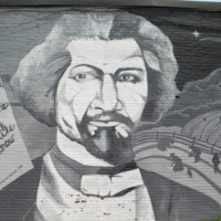 Deborah Browder and Heidi Schork, Frederick Douglass, Hammond & Tremont Streets, Boston, 2003.jpg