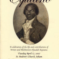 2007 Remembering Equiano event.jpg