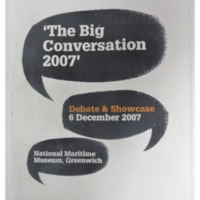2007 Big Conversation at the National Maritime Museum.pdf