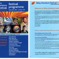 Ilkley Literature Festival, 2007