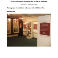 2007 Redbridge and Slavery Exhibition Photos.pdf