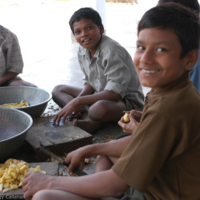 Lunchtime at Bal Vikas Ashram.jpg