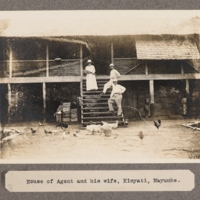 House of Agent and his wife, Kinyati, Mayumbe.