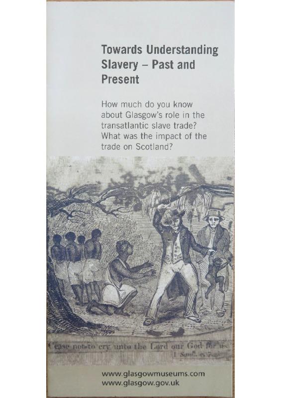Towards Understanding Slavery: Past and Present