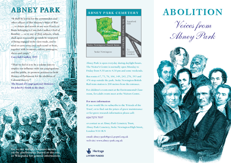 Abolition Voices from Abney Park