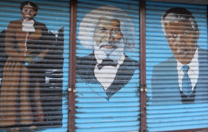 Tubman, Douglass, Mandela