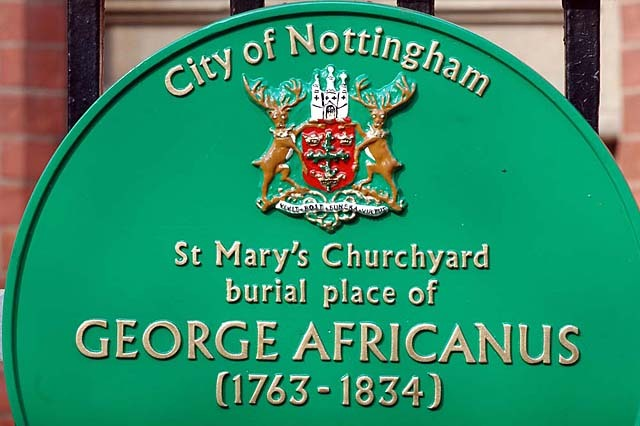 Rededication service for George Africanus