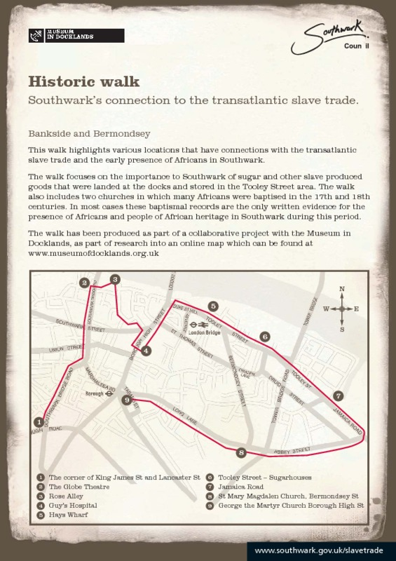 Southwark and Abolition