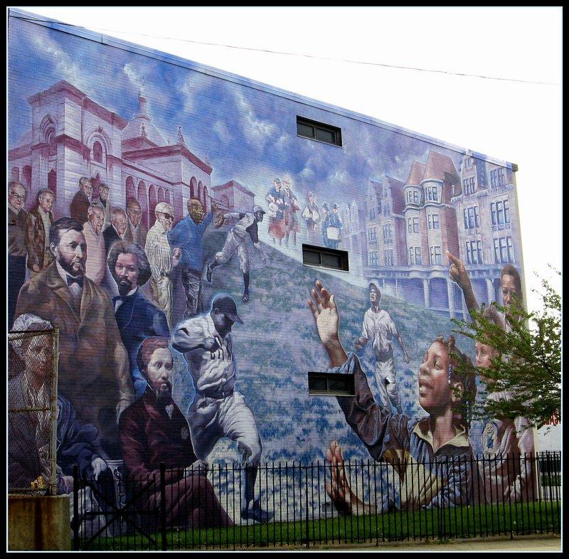 Leidy School Mural