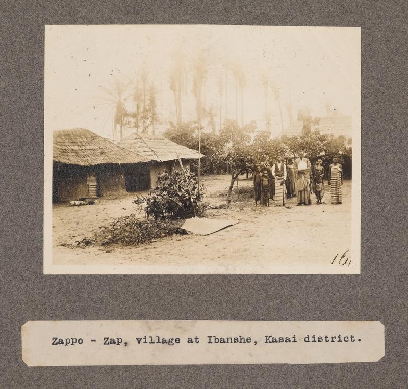 Zappo – Zap, village at Ibansche, Kasai District