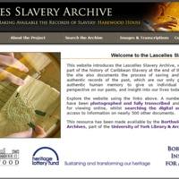 2007 Lascelles Slavery Archive.png