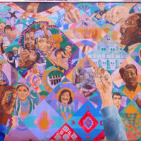 Freedom Quilt Mural
