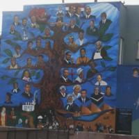 Moses X. Ball et al, Black Seeds, Jefferson Blvd & 3rd Ave (Black neighborhood), LA, 1991 (2).jpg
