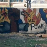 John Weber, All Power to the People, Cabrini-Green Public Housing Development, 357 W. Locust St, Chicago, 1969 [destroyed].jpg