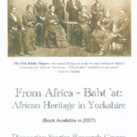 From Africa - Baht 'at: African Heritage in Yorkshire