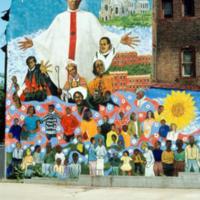 Walter Edmonds, Father Paul Washington, 3364 Ridge Ave, Philadelphia, 1990.jpg