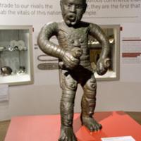 2007 Bristol BECM A statue of rebel leader Cuffy dominates the Abolition Gallery.jpg