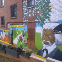 MTC Studios, Frederick Douglass Recreation Center mural, W Street SE at 14th Street SE, Washington D.C., 2012.jpg