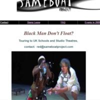 Black Man Don't Float?